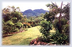 Mountain Views at Tan Ry Doon Villa in Montserrat